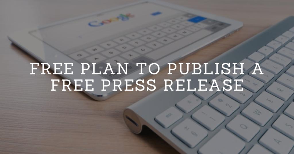 publish a free press release